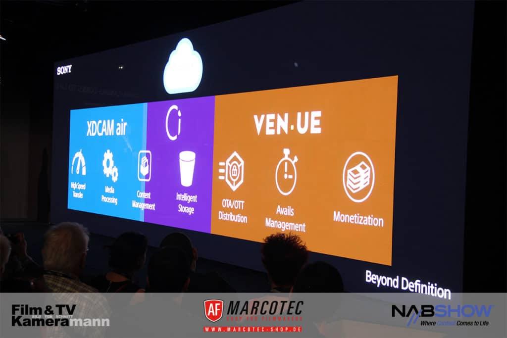 NAB 2017: Sonys Clouddienst XDCAM Air