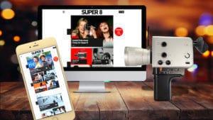 Crowdfunding-Projekt: Das Super 8 Webportal