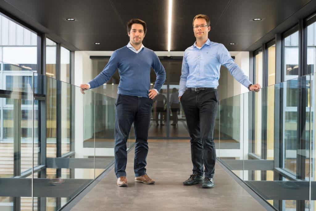 Die Brüder Fabian (links) und Tobias (rechts) Stumpfl, übernehmen ab sofort gemeinsam die Geschäftsleitung.