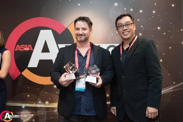 Gewinner von zwei Apollo Awards Andreas Brückl