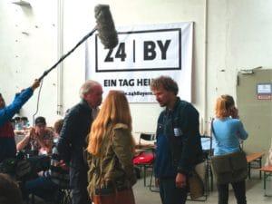 Prominente Unterstützung: Marcus H. Rosenmüller (rechts) und Franz Xaver Bogner (links).