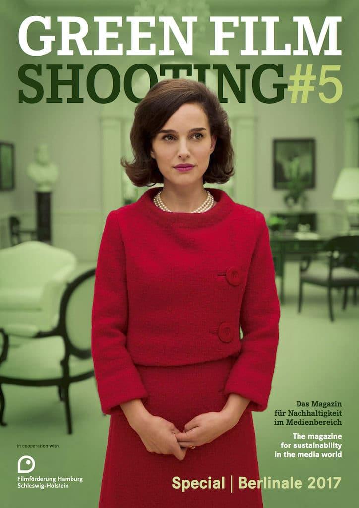 Cover der zur Berlinale 2017 erschienenen Ausgabe von Green Film Shooting.