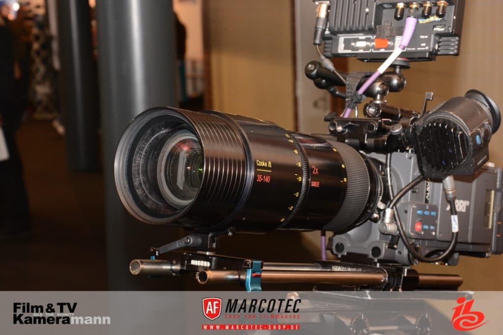 Das Cooke 35-140mm Anamorphic/i-Zoomobjektiv.