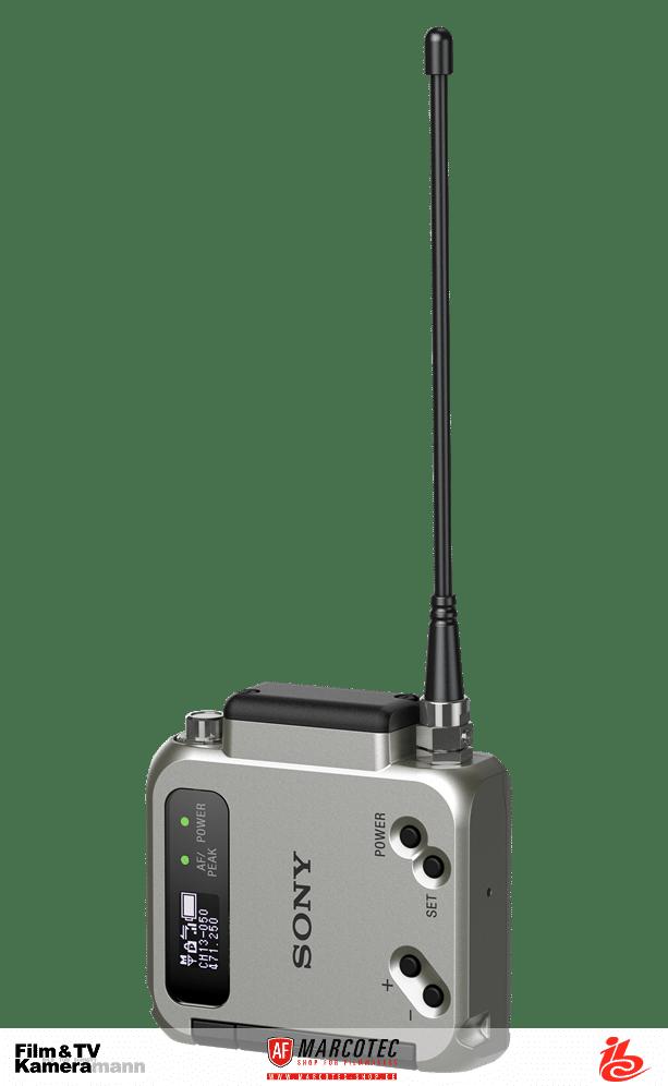 Der Mikrofon-Funktransmitter Sony DWT-B03R.
