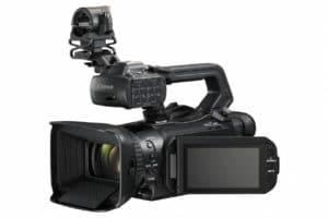 Für die Camcorder wurden eigens neue 4K-Objektiv mit 15-fach optischen Zoom entwickelt.