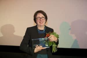 Inge Schneider bei der Filmplus Preisverleihung 2012.