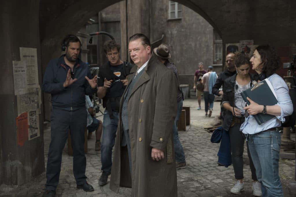 Berlin als Hauptfigur: Regisseur Achim von Borries, DoP Bernd Fischer und Schauspieler Peter Kurth.