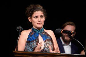 """Katja Benrath gewinnt den Studenten Oscar für """"Watu Worte""""."""