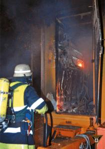 Wenn es brennt, dann hilft nur noch die Feuerwehr. In diesem Fall kein Filmset. Das Problem: Abschalten ist eventuell nicht mehr möglich.