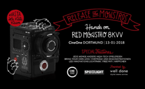CineOne Red Monstro Event 2018
