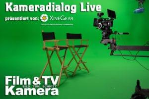 Ankündigung Kameradialog Live mit Sponsoring Xinegear