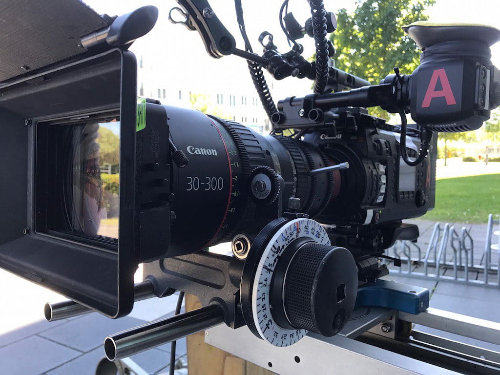 Die nominelle A-Kamera: Canon EOS C700
