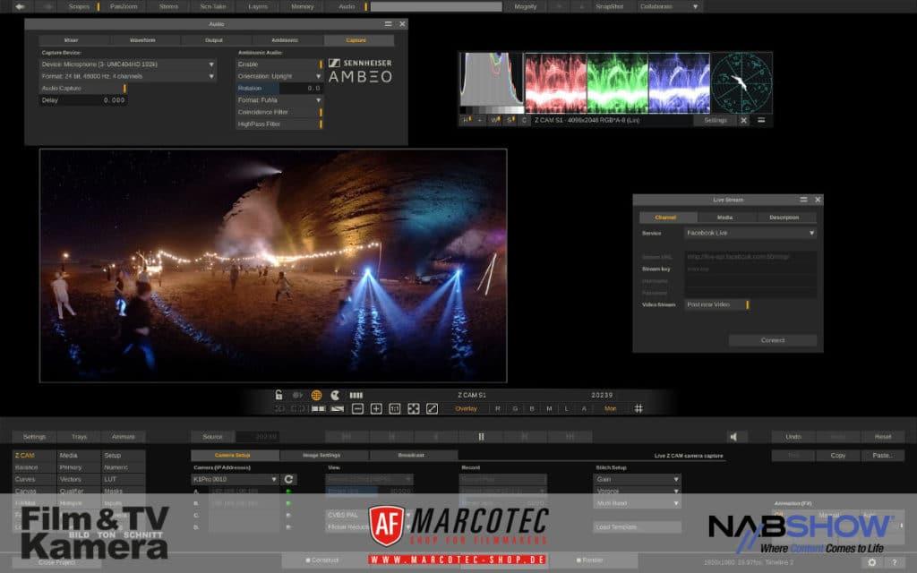 Screenshot aus dem Programm Scratch VR