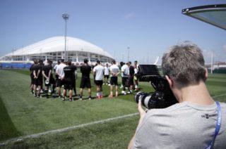DoP Martin Christ hat die Canon C200 bei einem Projekt für den DFB eingesetzt