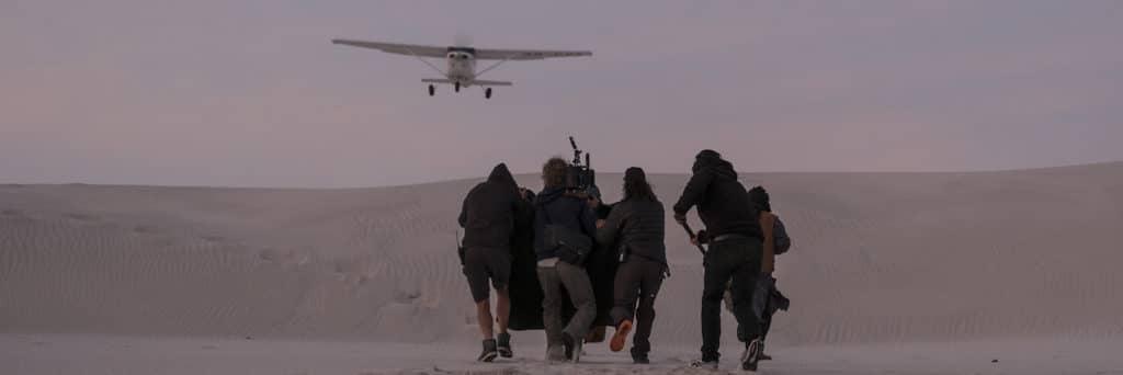 Für den ersten Teil der Dreharbeiten reiste das Team nach Südafrika.