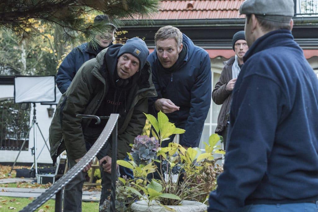 Regisseur Arne Feldhusen (l.) und DoP Kristian Leschner
