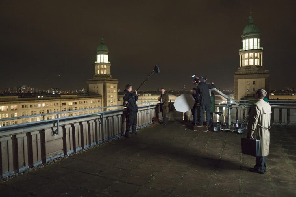 Der zweite Teil der Dreharbeiten fand in Berlin statt.