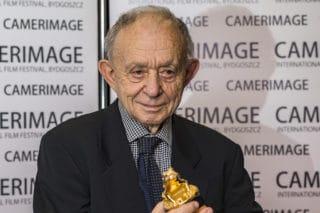 Frederick Wisemann auf dem Camerimage Filmfestival.
