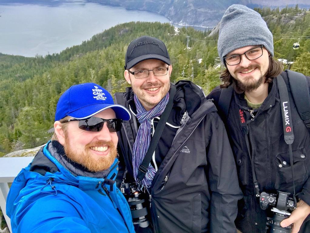 Das Team von Altruist Films: Mark Zdunnek, Jürgen Greis und Niklas Hoppe