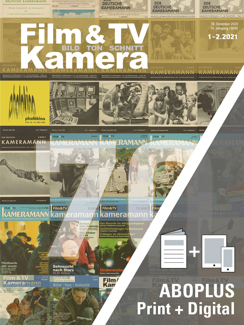 Produkt: Film & TV Kamera Jahresabonnement Plus