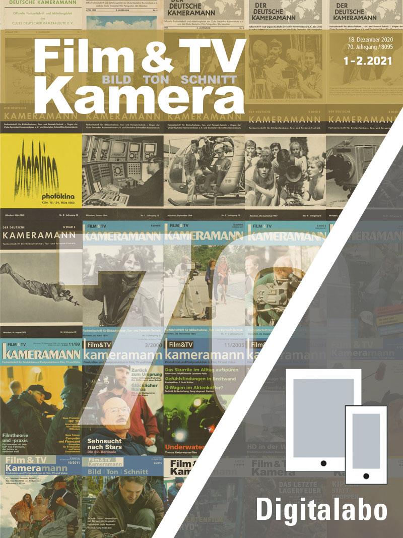 Produkt: Film & TV Kamera Jahresabonnement Digital