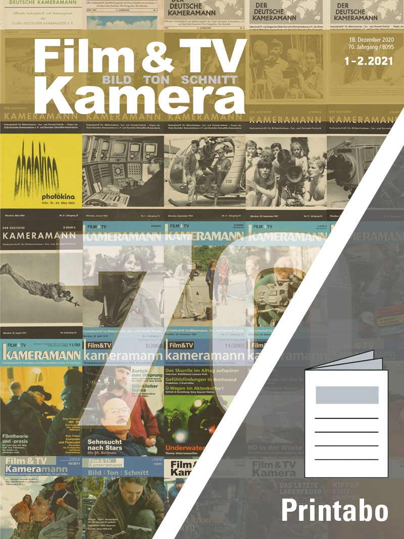 Produkt: Film & TV Kamera Jahresabonnement Print