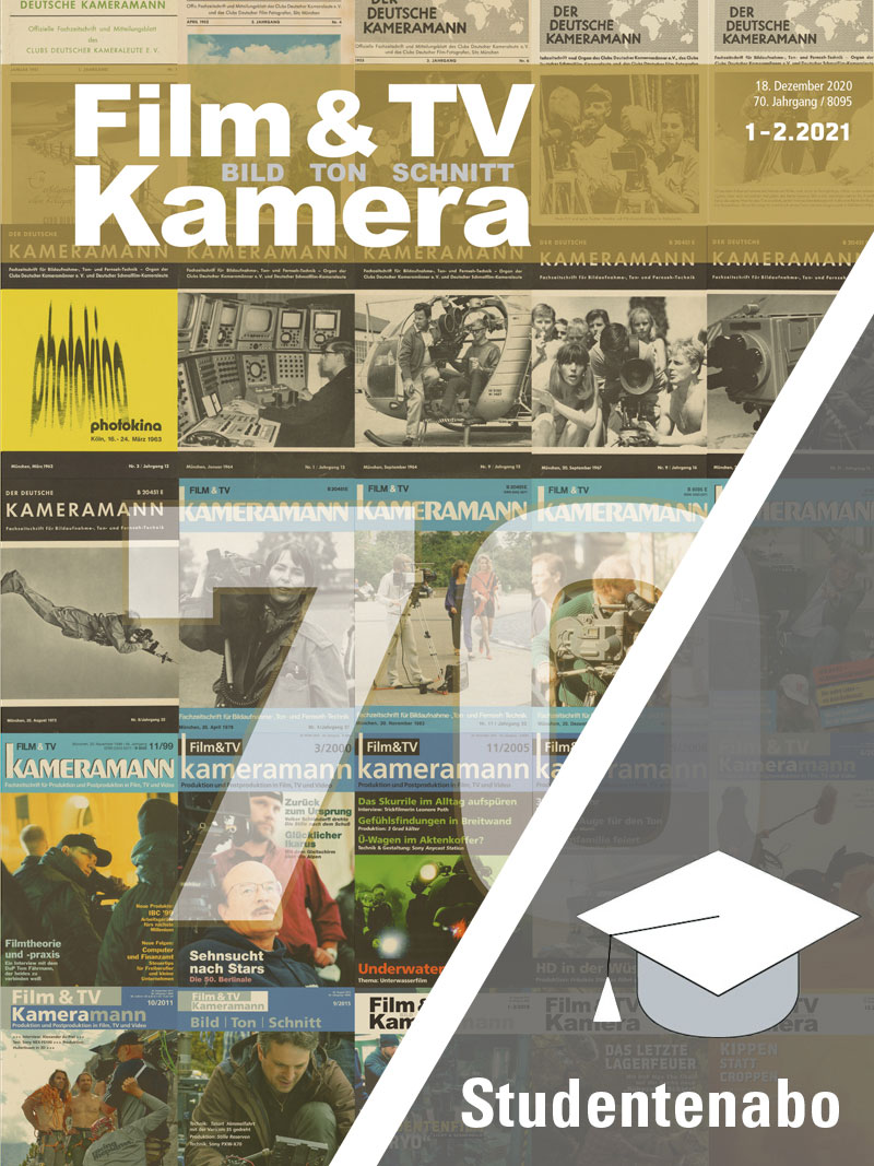Produkt: Film & TV Kamera Studentenabonnement Print