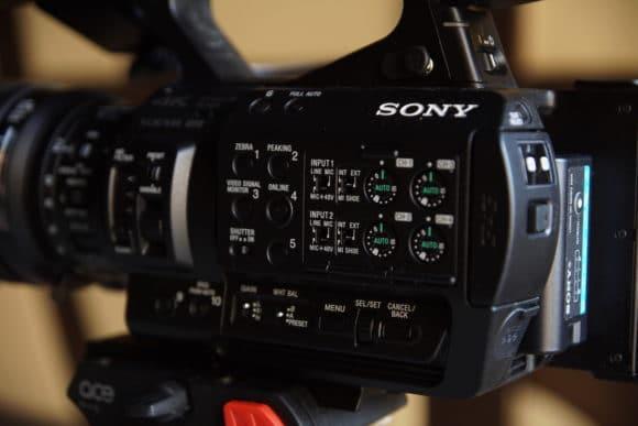 Sony PXW Z280 in der Nahaufnahme