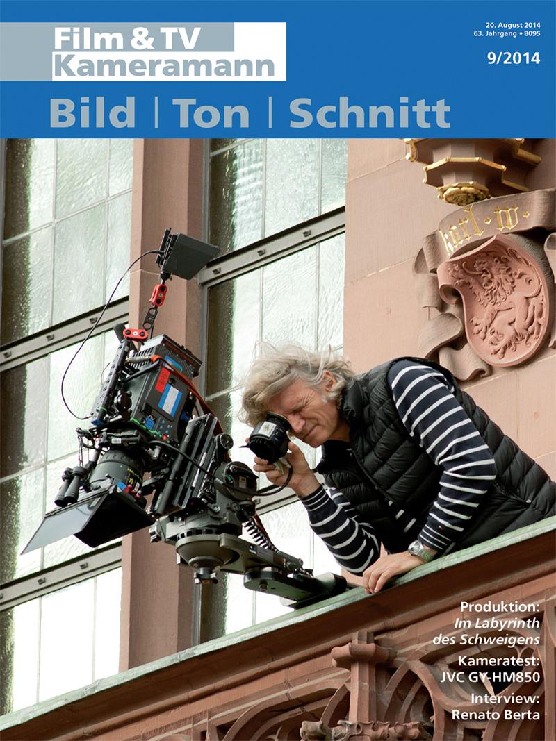 Produkt: Film & TV Kameramann Digital 09/2014
