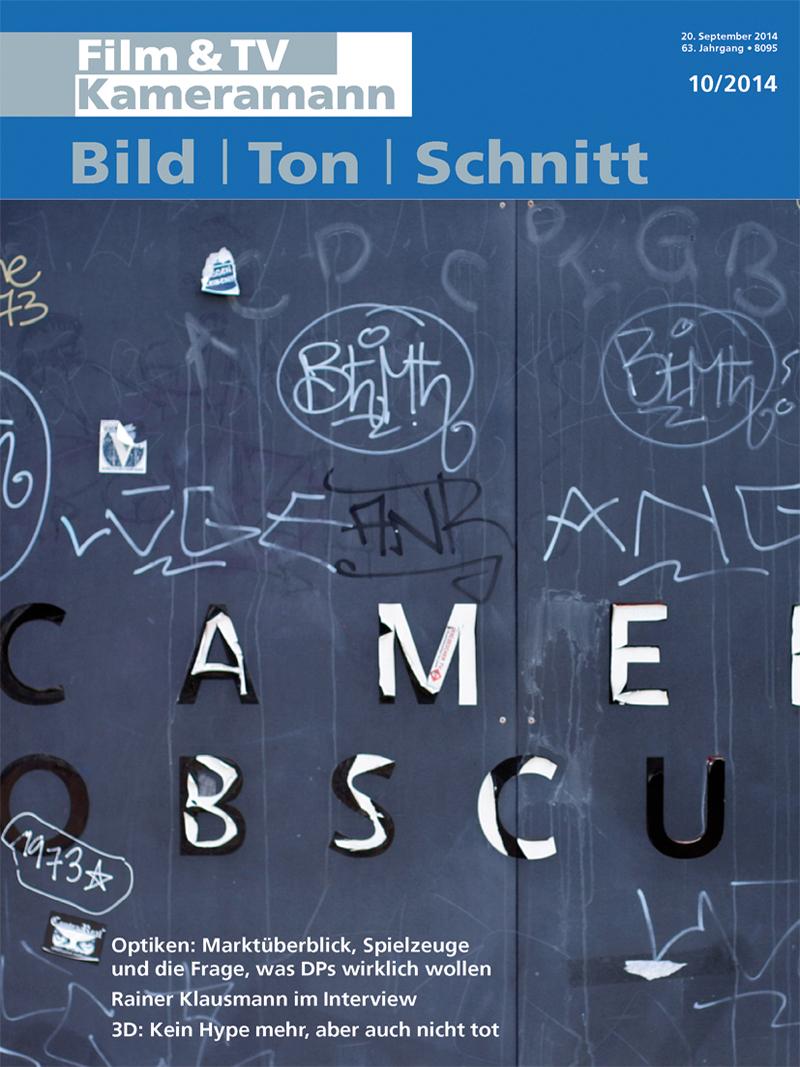 Produkt: Film & TV Kameramann Digital 10/2014