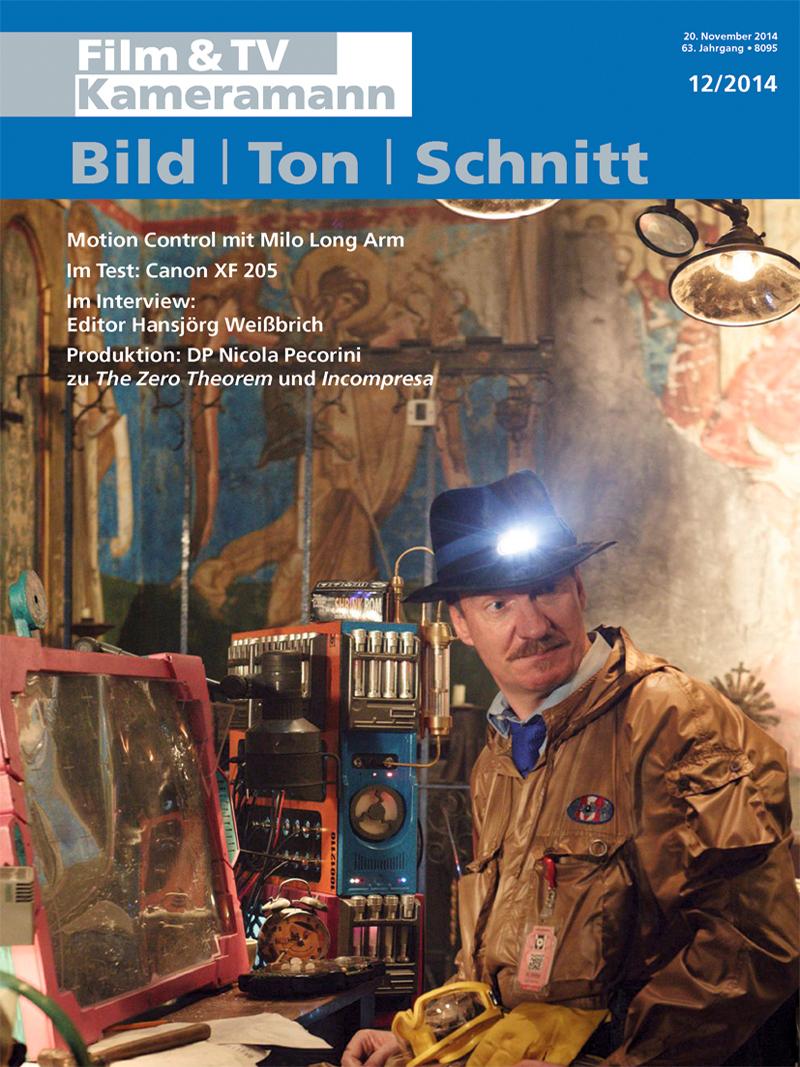 Produkt: Film & TV Kameramann Digital 12/2014