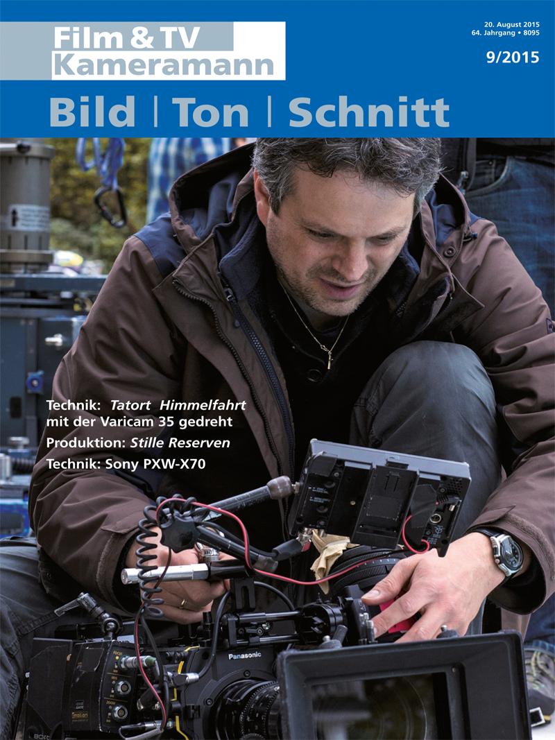 Produkt: Film & TV Kameramann Digital 09/2015