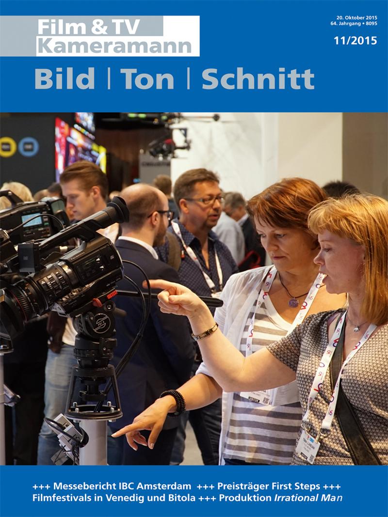 Produkt: Film & TV Kameramann Digital 11/2015