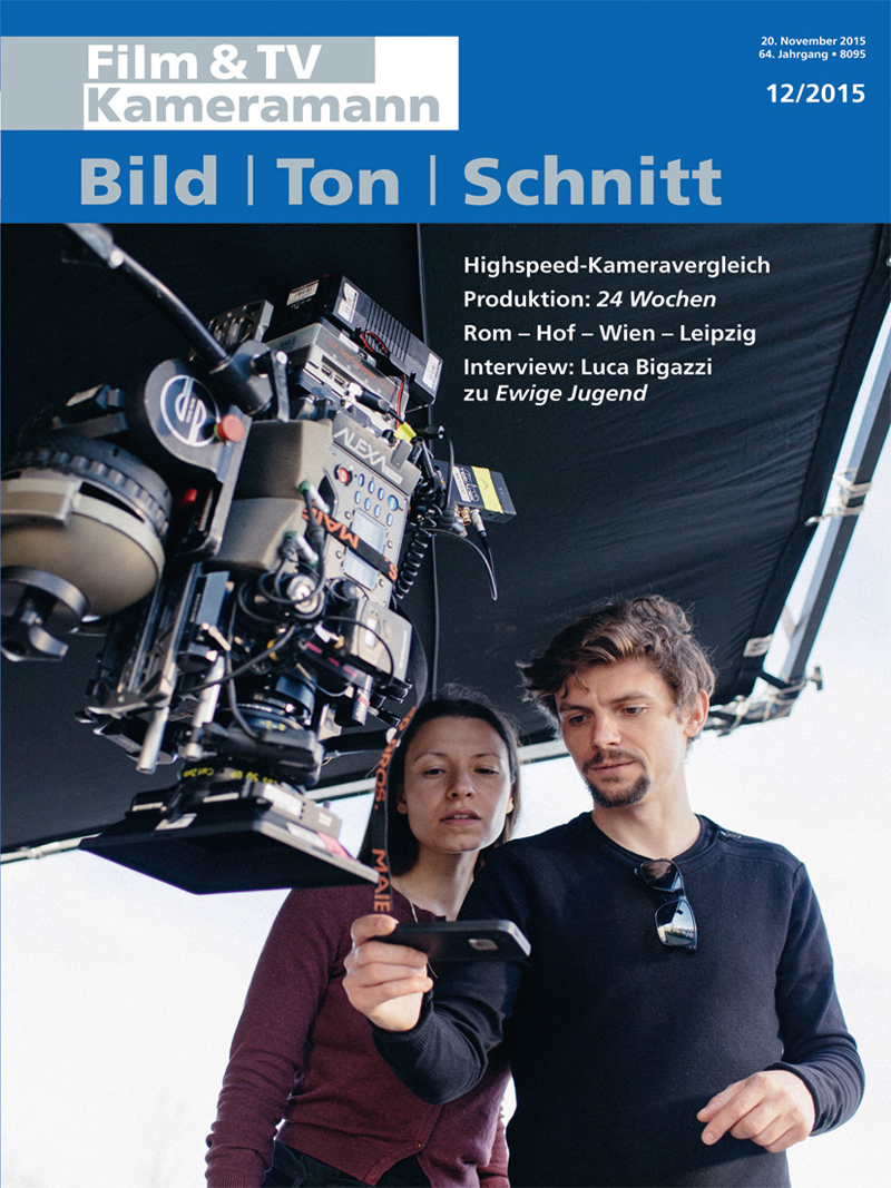 Produkt: Film & TV Kameramann Digital 12/2015
