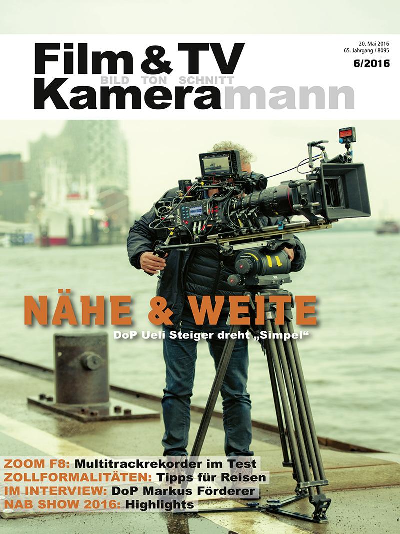 Produkt: Film & TV Kameramann Digital 06/2016