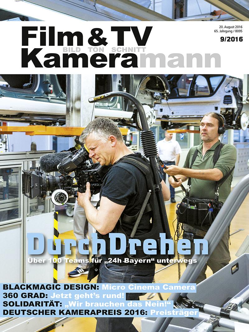 Produkt: Film & TV Kameramann Digital 09/2016