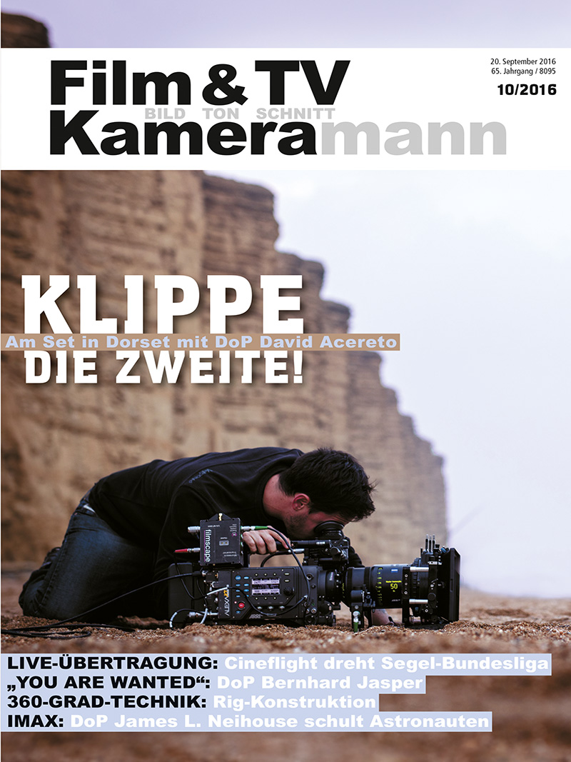Produkt: Film & TV Kameramann Digital 10/2016