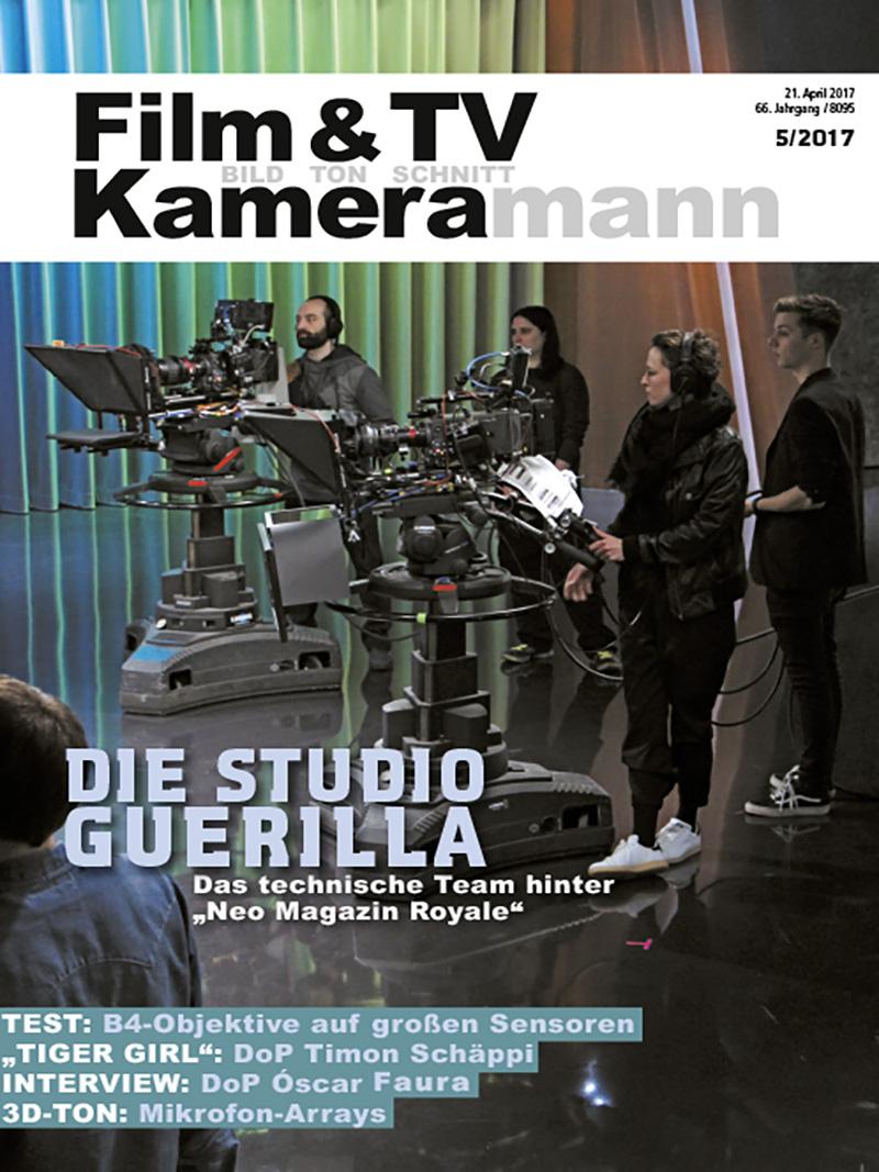 Produkt: Film & TV Kameramann Digital 05/2017