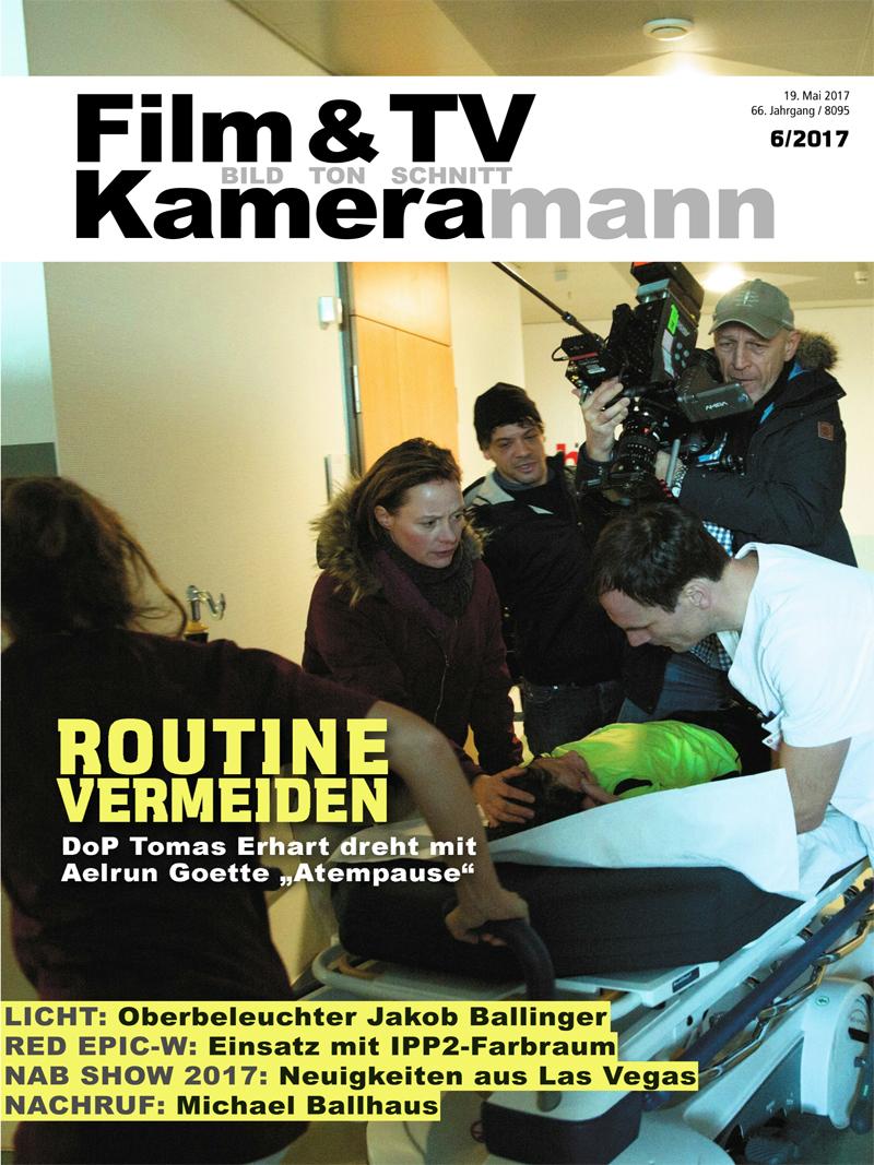 Produkt: Film & TV Kameramann Digital 06/2017