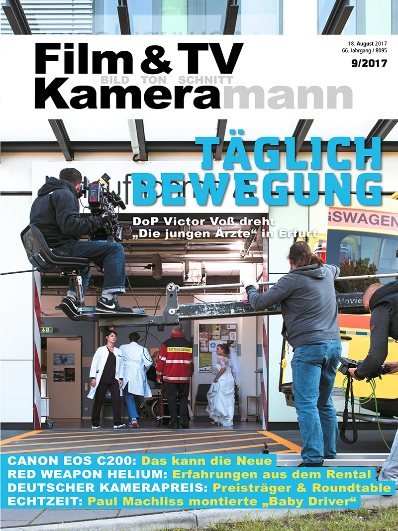 Produkt: Film & TV Kameramann Digital 09/2017