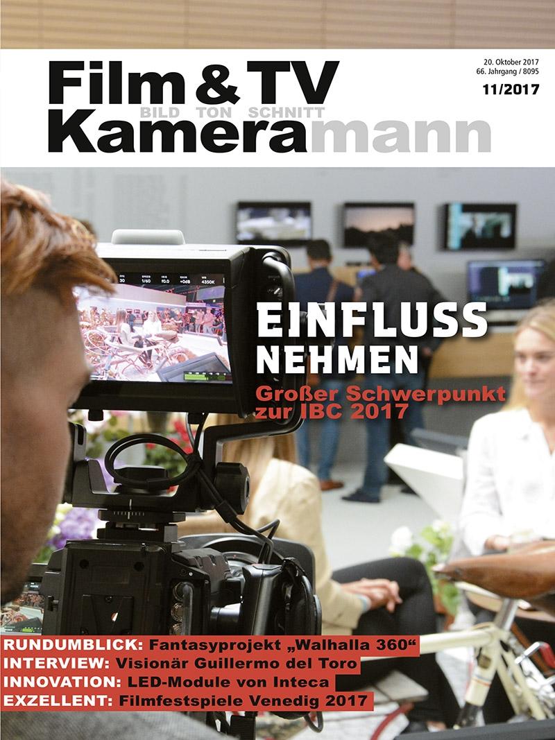 Produkt: Film & TV Kameramann Digital 11/2017