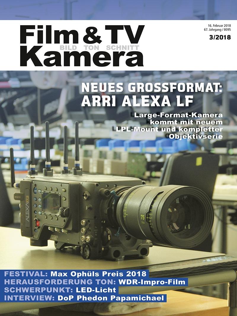 Produkt: Film & TV Kamera 03/2018 Digital