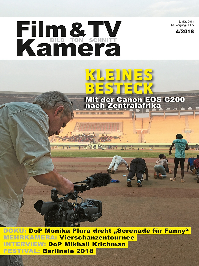 Produkt: FILM & TV KAMERA Digital 04/2018