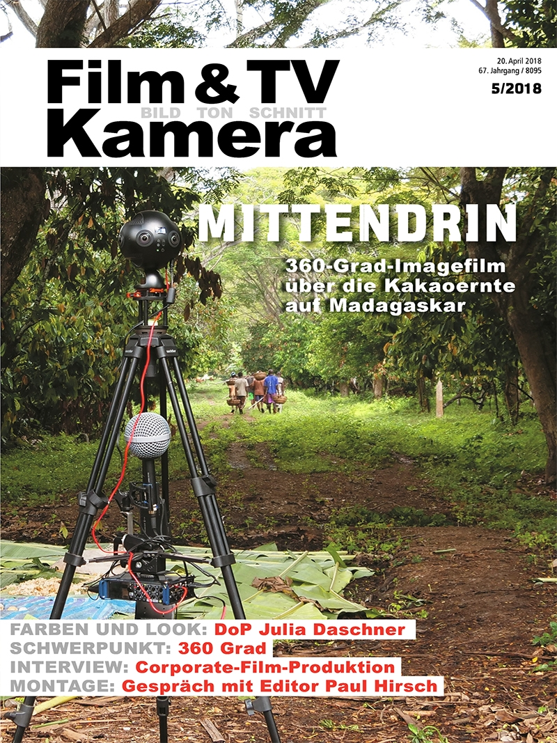 Produkt: FILM & TV KAMERA Digital 05/2018