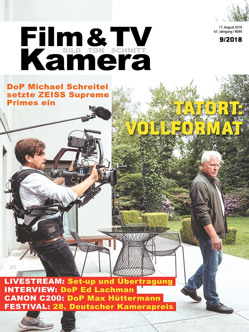Produkt: FILM & TV KAMERA Digital 09/2018
