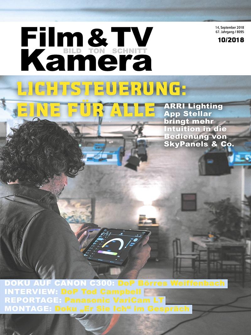 Produkt: FILM & TV KAMERA Digital 10/2018