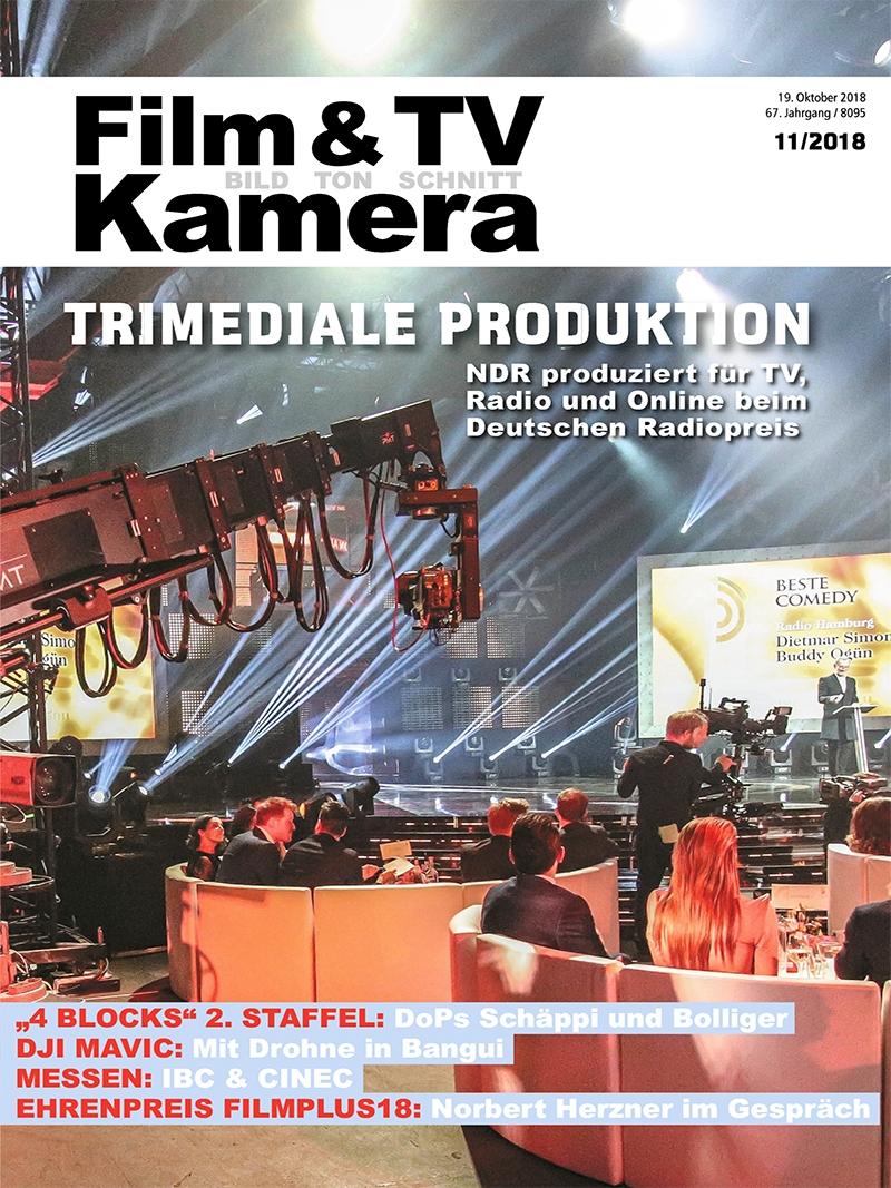 Produkt: FILM & TV KAMERA Digital 11/2018
