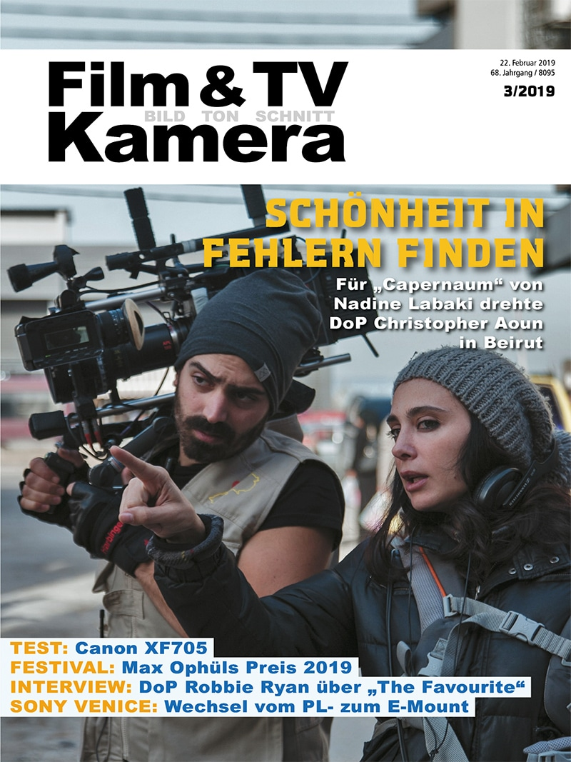 Produkt: FILM & TV KAMERA 03/2019