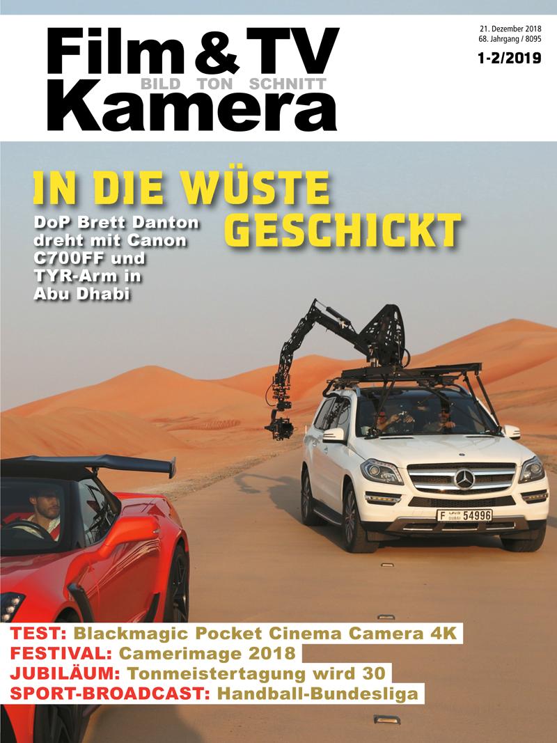 Produkt: Film & TV Kamera 01-02/2019 Digital