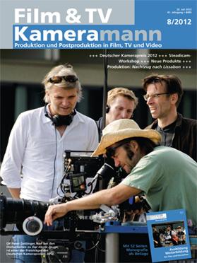 Produkt: Film & TV Kameramann Digital 08/2012